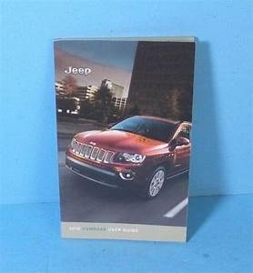 2016 Jeep Compass User Guide Owners Manual Set 16 W  Case