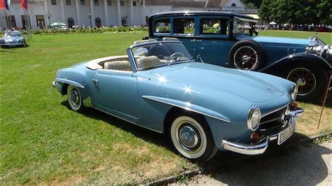 mercedes oldtimer 1961 mercedes 190 sl exterior and interior