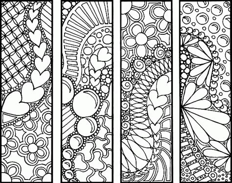 bookmark coloring pages coloring home