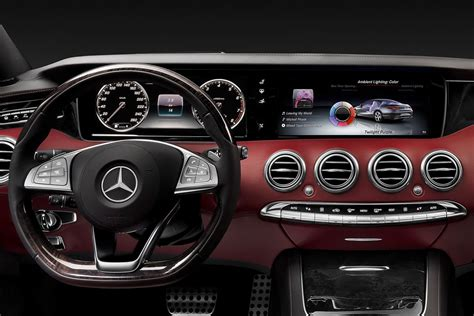 New Mercedes S-class Coupé's Star Shines At The Geneva