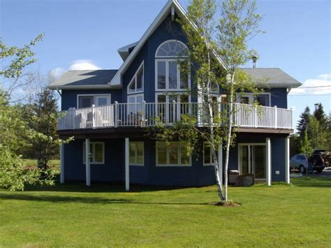 chalet style homes for sale beautiful contemporary chalet style house on 4 acres in onslow mountain scotia estates