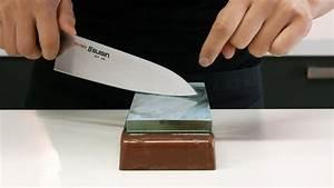 Messer Schärfen Anleitung : japanische allzweck messer schleifen youtube ~ Frokenaadalensverden.com Haus und Dekorationen