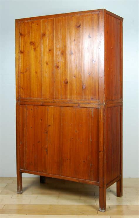 antique kitchen pantry cabinet fujian chinese pine wood