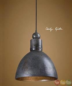 Adelino Rustic Single Pendant Light Fixture 21976