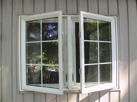 twin casement window  colonial grids weathermaster windows