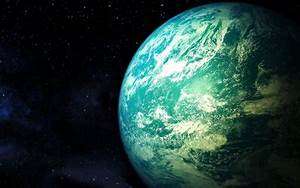 Download, Wallpapers, Blue, Planet, Galaxy, Stars, Planets