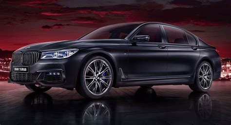 2020 Bmw 7 Series Black Fire Edition Revealed For China