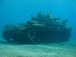 shipwrecks | They also sunk an M40 tank as an underwater ...