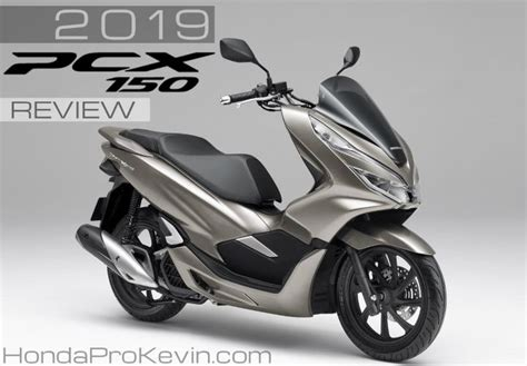 Pcx 2018 Indonesia Review by 2019 Honda Pcx150 Scooter Review Specs New Changes Pcx