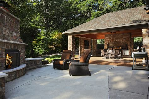 outdoor living room patio  screened porch