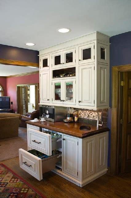 cincinnati kitchen white  dark cabinets traditional