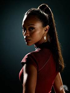 "Zoe Saldana as Uhura in ""Star Trek"" (2009) http://www.imdb ..."