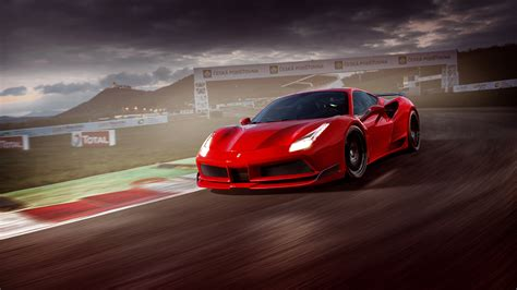 Novitec N Largo Ferrari 488 Gtb 9 Wallpaper Hd Car