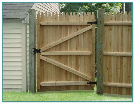 Wood Fence Gate Kit