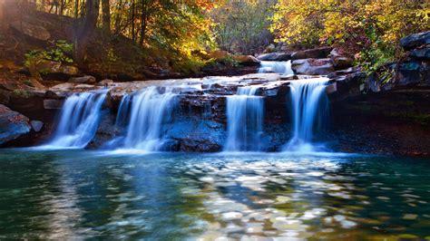 Waterfall Background by Beautiful Waterfalls Wallpapers Deskto Hd Wallpaper