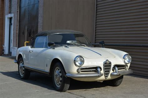 1962 Alfa Romeo by 1962 Alfa Romeo Giulietta Spider