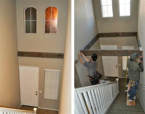escalier gain de place  idees grande hauteur sous