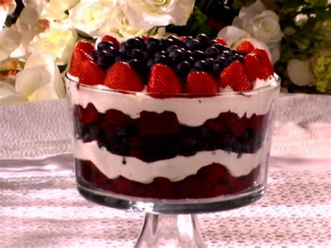 food network dessert recipes white and blue trifle recipe food network