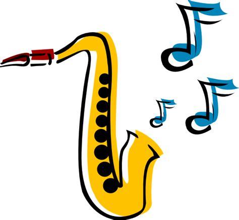 Saxophone Clipart Saxophone 5 Clip At Clker Vector Clip