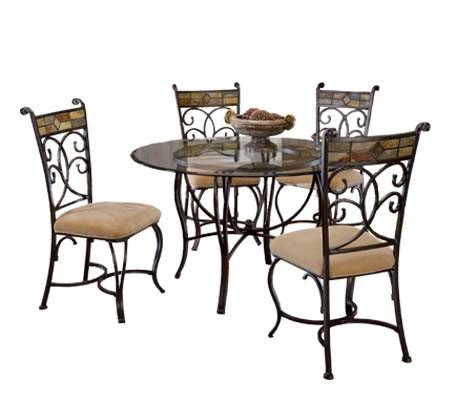 hillsdale furniture pompei dining chair set of 2