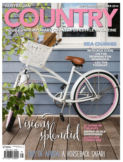 country magazine our september october issue is here australian country australia country magazine