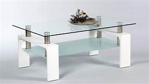 Couchtisch Weiß Glas : couchtisch mano wohnzimmertisch tisch wei hochglanz glas 100 cm ~ Frokenaadalensverden.com Haus und Dekorationen