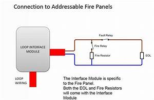 Addressable Fire Alarm System Diagram