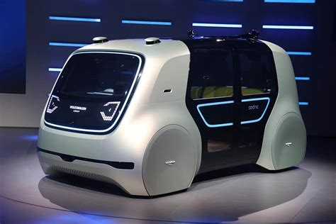 Vw Cedric, The Future Car! Without Steering Wheel, Pedals
