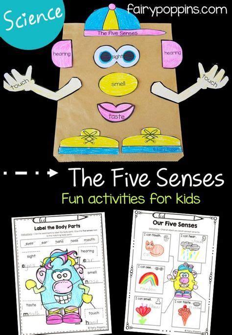 senses activities  kids fairy poppins senses