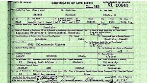 Evidence Obama Birth Certificate 'Fake' Heading To ...