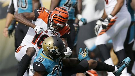 aj green  jalen ramsey fight  punches thrown