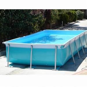 Piscine Tubulaire Hors Sol : piscine hors sol tubulaire iaso max 6 x 3 x 1 20 m filtration 10m3 h ~ Melissatoandfro.com Idées de Décoration
