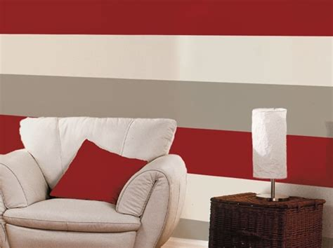 red grey  cream striped wallpaper gallery