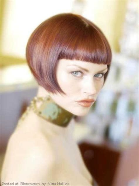 Nice Short Straight Hairstyles with Bangs 2015 Styles 7