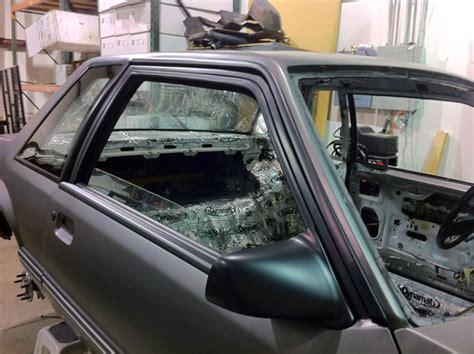 fox mustang door trim restoration stangnet