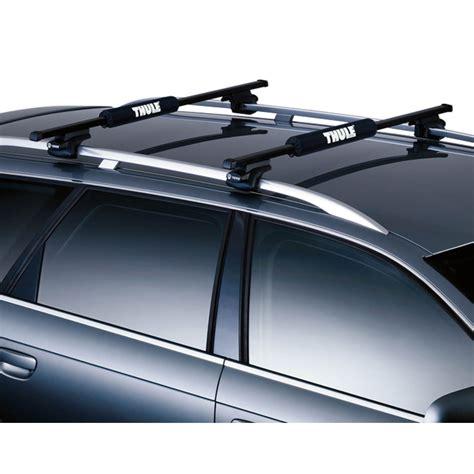 porta kayak per auto cuscinetti proteggi barre portatutto thule cuscinetti