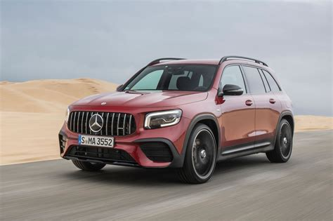 And while performance is at its core, the glb 35 also has the looks to show it. Mercedes-AMG GLB 35 Review (2020)   Autocar