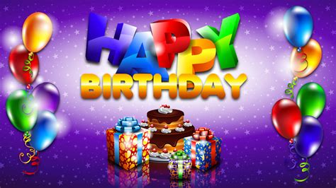 Happy Birthday Backgrounds by Happy Birthday Wallpapers Hd Weneedfun