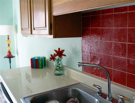 Faux Backsplash Ideas : Home Design   Decide Upon A Fast