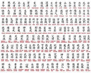 Kanji Collection Stock Vector Illustration Of