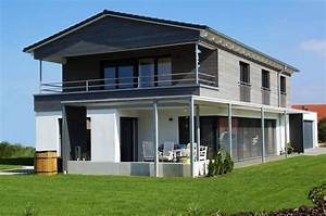Fassadengestaltung Holz Und Putz : zettler bau einfamilienhaus in holzst nderbauweise mit ~ Michelbontemps.com Haus und Dekorationen