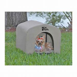 The mutthutt dog house small 54x48x48cm for Tuff shed dog house