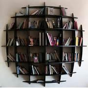 Unique Bookshelves Unique Bookshelf Interesting Design Idea For Shelves Angl