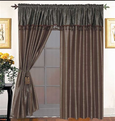 get impressive view with bay window curtain ideas