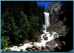 Mountain waterfall 3d screensaver full