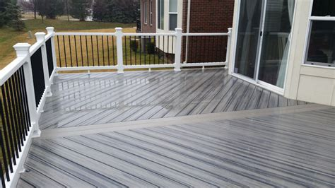 trex transcend decking island mist trex project gallery 2 supreme deck deck builders michigan