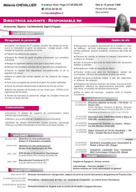 modèle cv secrétaire polyvalente cv 2013