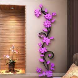aliexpress com buy free shipping flower sale wall stickers home decor 3d wall stickers