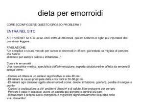 dieta per emorroidi interne dieta per emorroidi