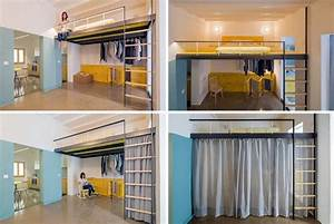 Lit Mezzanine 2 Places 9 Ides Gain De Place Chambre Adulte